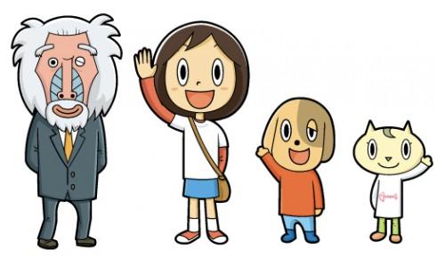 とんとんマンガ用キャラ(日本キリスト教団出版局) キャラクター  とんとんマンガ用キャラ(日本キリスト教団出版局)