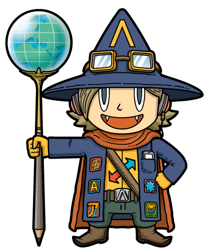 魔法使いキャラクター(プレゼン)
