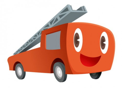 Character (fire engine) キャラクター  Character (fire engine)