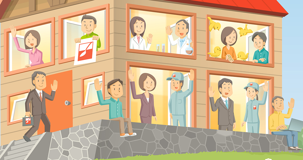 三井製糖 社会・環境報告書2013「SPOON HOUSE」 広告  三井製糖 社会・環境報告書2013「SPOON HOUSE」