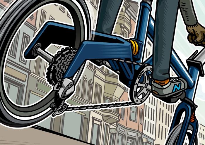 Cyclingrooving Berlin オリジナルイラスト  Cyclingrooving Berlin
